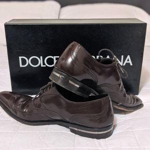 Authentic Dolce & Gabbana men's dress shoes 9.5